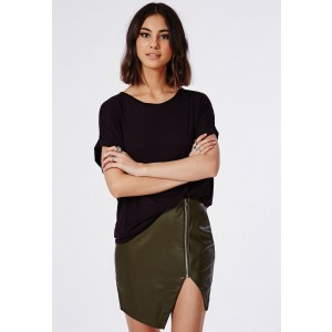 leather asymmetric zip skirt - £8 anything leather I just love and zip detail on anything just gives it an edge, for this cheap just couldn't resist!