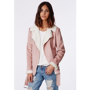 faux suede pink coat - £20 BARGAIN ALERT!! omg I cannot cope with how amazing this coat is, sooo cheap and it is absolutely gorg! not too heavy for coming into spring but also lined with the cream faux fur inside for heat, definitely my fav purchase!