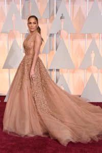 Jlo stuns in an unreal Elie Saab dress