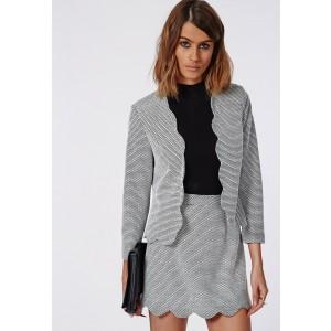 Scallop blazer - £30 Scallop skirt - £30