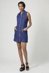 zip front dress £38