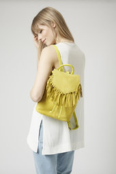 tassel backpack - £55