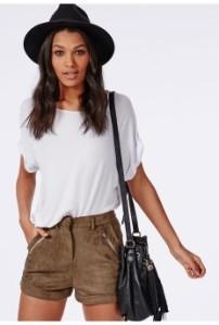zip shorts - £20