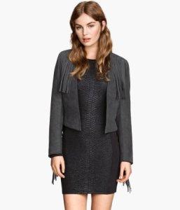 fringed jacket - £29.99