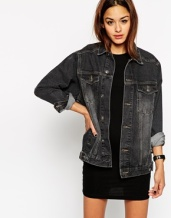 denim western jacket £40