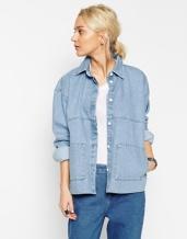 bleach denim jacket £60