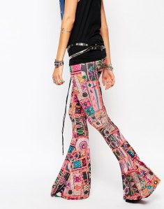 patchwork trousers £32