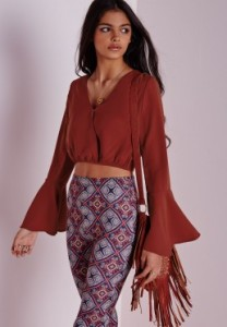 cropped blouse £20