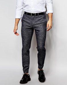 cuffed leg trouser - £32