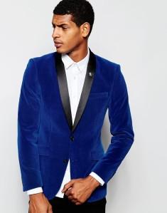 ASOS velvet blazer - £80